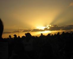 ハワイ,夕陽,夕日,格安