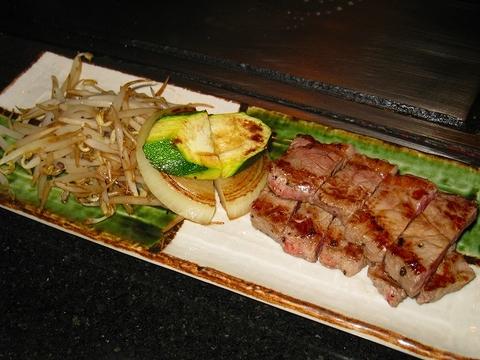 鉄板焼き,ハワイ,ワイキキ,ステーキ