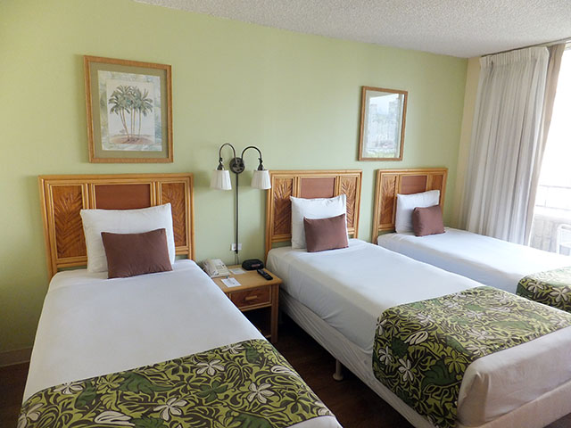 ワイキキサンドビラ,部屋,ハワイ