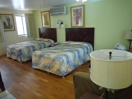 ワイキキサンドビラ,ホテル,部屋