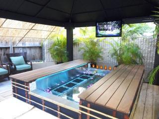 足湯,ワイキキサンドビラ,ハワイ