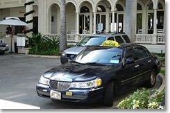 ハワイ,タクシー,ホノルル国際空港
