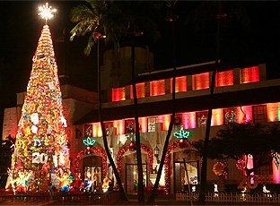 ホノルルシティライツ,ハワイ,クリスマス