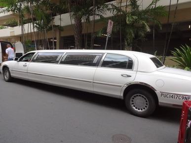 ハワイ,リムジン,タクシー