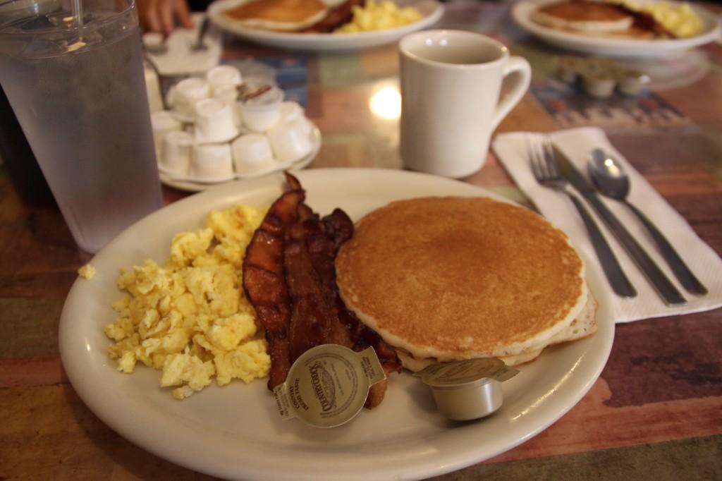 ハワイ,朝食,パンケーキ