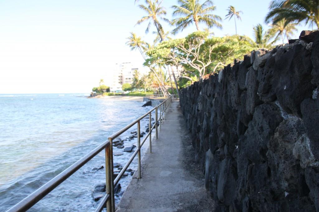 ハワイ,散歩