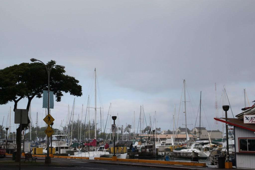 ハワイ,港