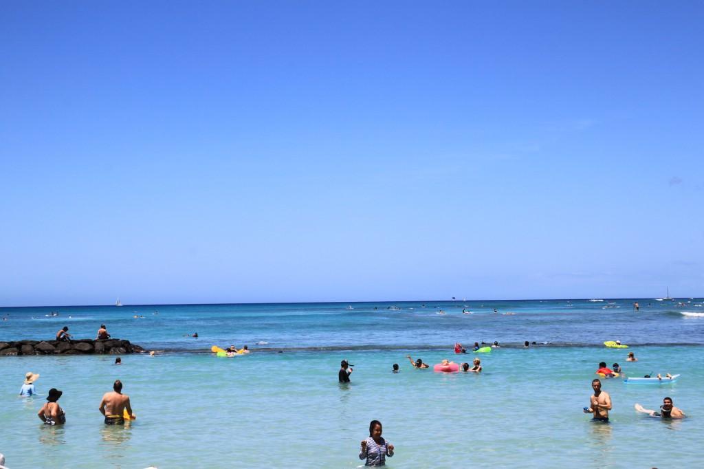 ハワイ,ワイキキ,ビーチ