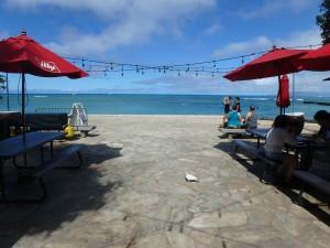 ベアフットビーチカフェ,ハワイ,オーシャンフロント