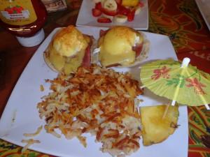 エッグベネディクト,チーズインパラダイス