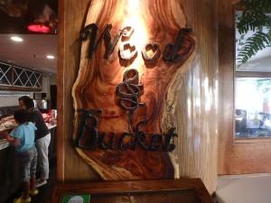 サンドビラ,レストラン,Wood&Bucket