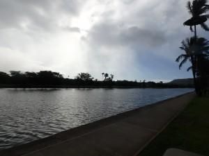 アラワイ運河,朝,散歩