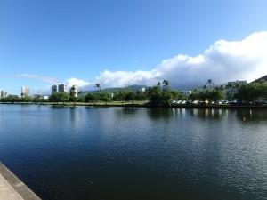 アラワイ運河,朝