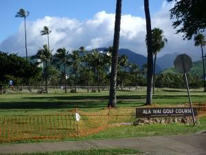 ハワイ,ゴルフ,アラワイ