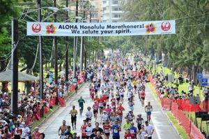 ハワイ,12月,ホノルルマラソン