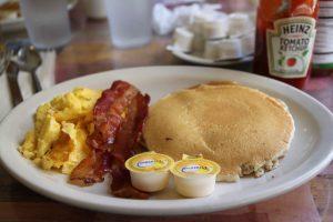 パンケーキ,ハワイ,子供,朝食