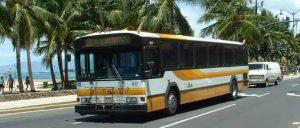 ハワイ,移動費,バス